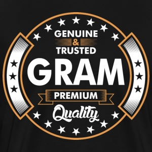 Genuine And Trusted Gram Premium Quality T-Shirts - Men's Premium T-Shirt
