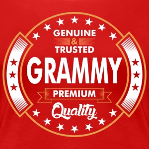 Genuine And Trusted Grammy Premium Quality T-Shirts - Women's Premium T-Shirt