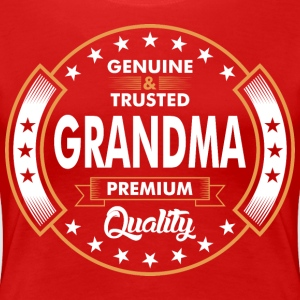 Genuine And Trusted Grandma Premium Quality T-Shirts - Women's Premium T-Shirt
