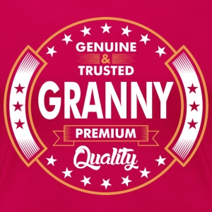 Genuine And Trusted Granny Premium Quality T-Shirts - Women's Premium T-Shirt