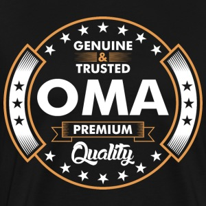 Genuine And Trusted Oma Premium Quality T-Shirts - Men's Premium T-Shirt