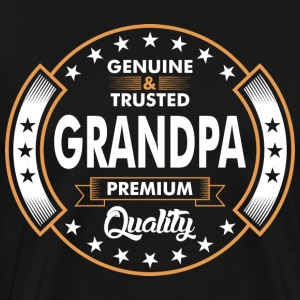 Genuine And Trusted Grandpa Premium Quality T-Shirts - Men's Premium T-Shirt