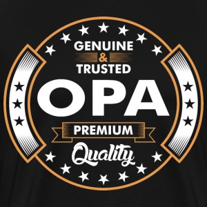 Genuine And Trusted Opa Premium Quality T-Shirts - Men's Premium T-Shirt