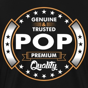 Genuine And Trusted Pop Premium Quality T-Shirts - Men's Premium T-Shirt