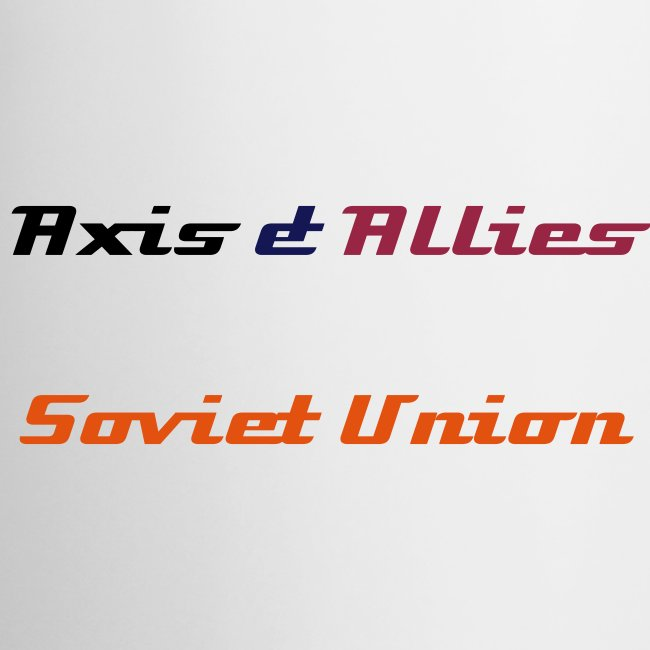 Allies Soviet Union Coffee Mug