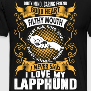 Caring FrieCaring Friend Good Heart I Love My Lapp T-Shirts - Men's Premium T-Shirt