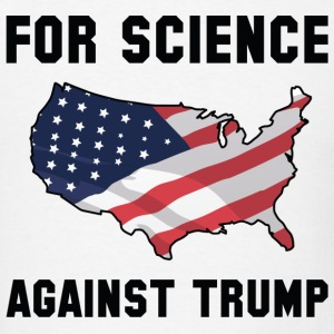 For Science Against Trump - Men's T-Shirt