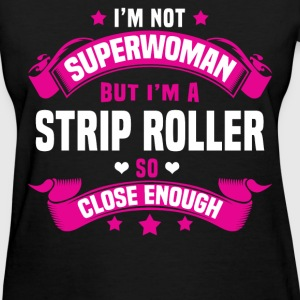 Strip Roller Tshirt - Women's T-Shirt