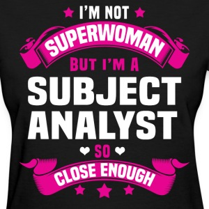 Subject Analyst Tshirt - Women's T-Shirt