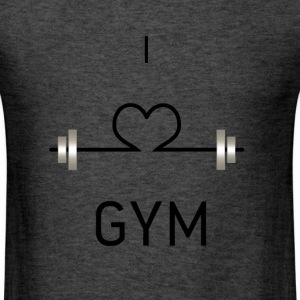 I love GYM - Men's T-Shirt