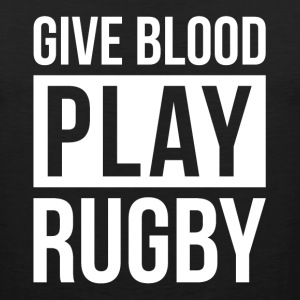 GIVE BLOOD PLAY RUGBY Sportswear - Men's Premium Tank