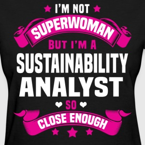 Sustainability Analyst Tshirt - Women's T-Shirt