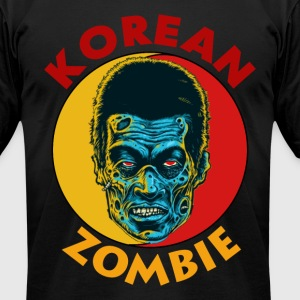 KOREAN ZOMBIE - Men's T-Shirt by American Apparel