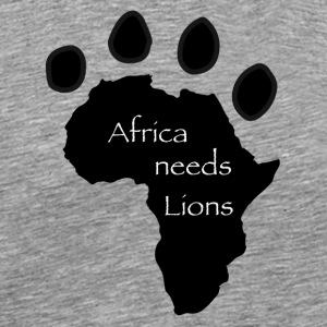 Africa Needs Lions - Men's Premium T-Shirt