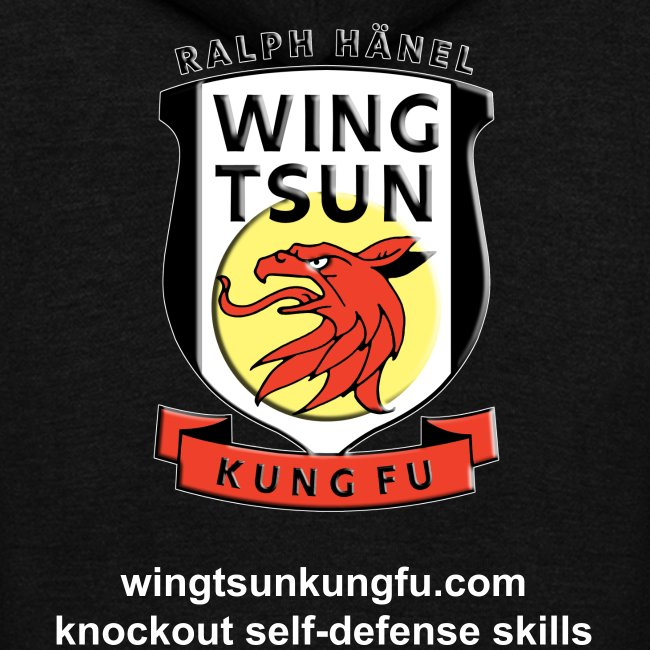 Wing Tsun Kung Fu instructor (unisex zip hoodie)