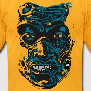 ZOMBIE - Men's T-Shirt by American Apparel