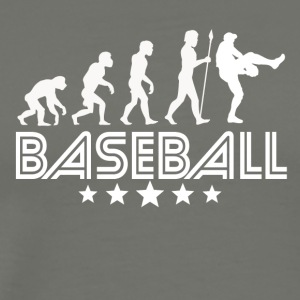 Retro Baseball Evolution - Men's Premium T-Shirt