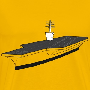 Aircraft carrier ship - Men's Premium T-Shirt