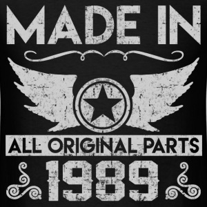 made in 1989 22.png T-Shirts - Men's T-Shirt