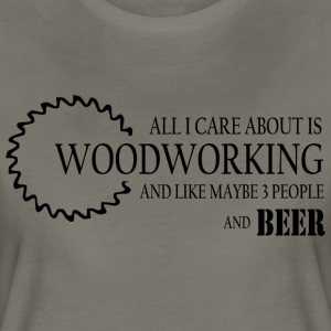And Beer Ladies T-Shirt - Women's Premium T-Shirt