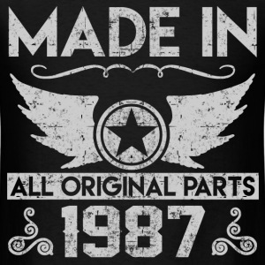 made in 1987 22.png T-Shirts - Men's T-Shirt