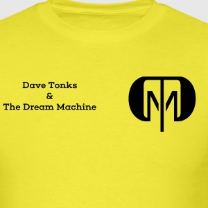 Dave Tonks & The Dream Machine - Men's T-Shirt