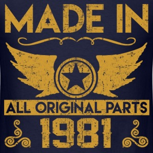 made in 1981 333.png T-Shirts - Men's T-Shirt