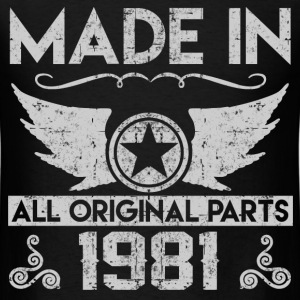 made in 1981 22.png T-Shirts - Men's T-Shirt