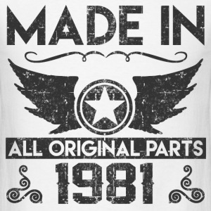 made in 1981 11.png T-Shirts - Men's T-Shirt