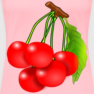 Red Cherries - Women's Premium T-Shirt