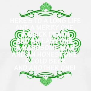 St Patrick's Day Toast For Women - Men's Premium T-Shirt