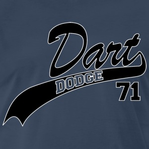 71 Dart - White Outline - Men's Premium T-Shirt