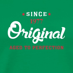 Since 1977 Original Aged To Perfection - Men's Premium T-Shirt