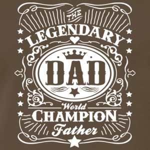 Legendary Dad World Champion Father T Shirt - Men's Premium T-Shirt