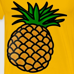 pineaple - Men's Premium T-Shirt