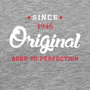 Since 1946 Original Aged To Perfection - Men's Premium T-Shirt