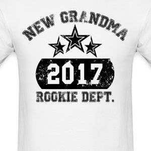 New Grandma 2017 Rookie Dept. T-Shirts - Men's T-Shirt