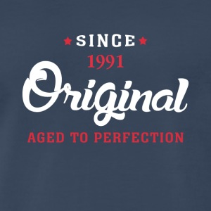 Since 1991 Original Aged To Perfection Cool Gift - Men's Premium T-Shirt