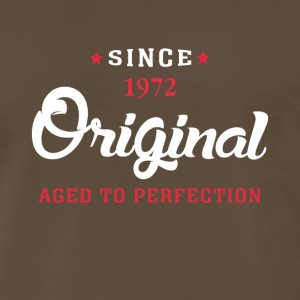 Since 1972 Original Aged To Perfection - Men's Premium T-Shirt