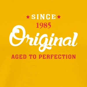 Since 1985 Original Aged To Perfection - Men's Premium T-Shirt