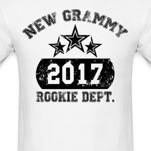 New Grammy 2017 Rokie Dept T-Shirts - Men's T-Shirt