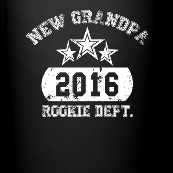 new grandpa 2016 rookie dept Mugs & Drinkware - Full Color Mug