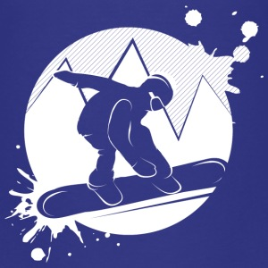 Snowboarder Patch Graffiti Baby & Toddler Shirts - Toddler Premium T-Shirt