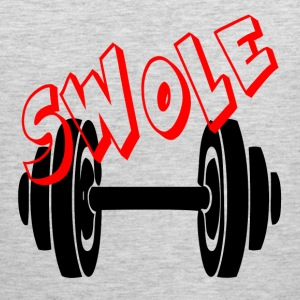 SWOLE - FUNNY GYM COUPLE Sportswear - Men's Premium Tank