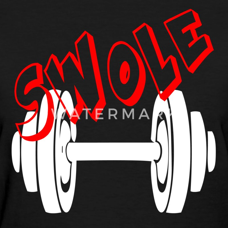 SWOLE - FUNNY GYM COUPLE T-Shirts - Women's T-Shirt