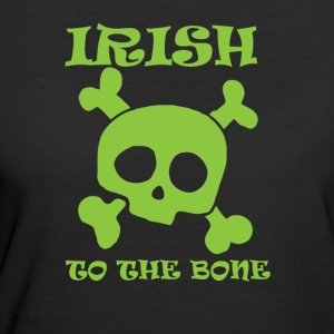 Irish to the Bone_ st Patrick's - Women's 50/50 T-Shirt