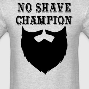 No Shave Champion - Men's T-Shirt