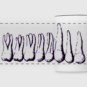 Teeth Mugs & Drinkware - Panoramic Mug
