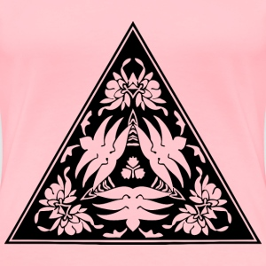 Triangular ornament 20 - Women's Premium T-Shirt