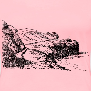 Headland scene - Women's Premium T-Shirt